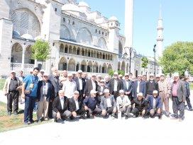 Emekliler İstanbul'u gezdi