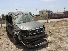 Konyada trafik kazası: 1 ölü, 5 yaralı
