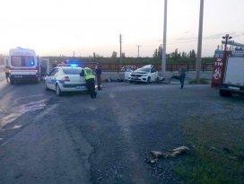 Afyonkarahisar'da katliam gibi kaza: 4 ölü, 1 yaralı