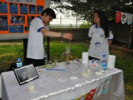 Akşehir Anadolu Lisesi'nden Bilim Fuarı