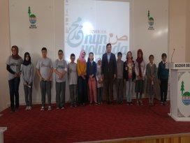 Bozkırda hadis ezberleme ve kısa film yarışması