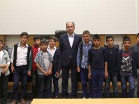Tepekent'in başarılı öğrencileri Selçuklu'da