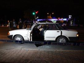 Konyada otomobile silahlı saldırı: 1 ölü