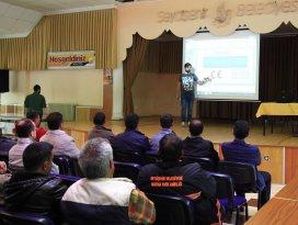 Seydişehirde Sebeltaş çalışanlarına seminer