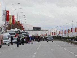 Başbakan Davutoğlu, Konyaya geldi