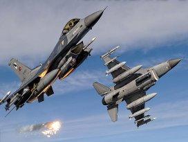 Irakın kuzeyindeki terör örgütü hedeflerine hava harekatı
