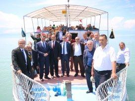 Beyşehir tarihi kentlerin başkanlarını ağırladı