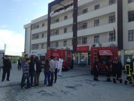 Konyada engelli bakım merkezinde yangın: 1 ölü
