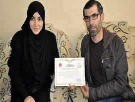 Konyada yaşayan Suriyeli Rahafın okuma azmi