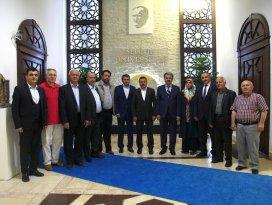 Başkan Tutal'dan Rektör Şahin'e ziyaret