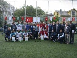 Meram'da Başkanlık Futbol Turnuvası sona erdi