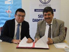 MEDAŞ ile KTO Karatay Üniversitesi arasında protokol