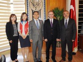 Güney Kore Büyükelçisi'nden Büyükşehir'e ziyaret