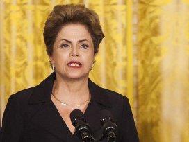 Brezilya senatosu Rousseffi geçici olarak görevden aldı