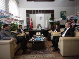 Derbent heyetinden Selçuk Üniversitesi'ne ziyaret