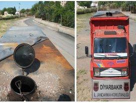 Petrol boru hattından hırsızlığa jandarma engeli