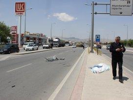Emekli astsubay trafik kazasında öldü