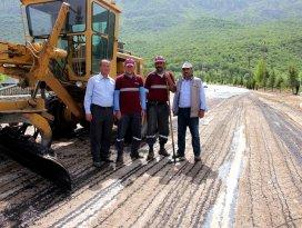 Seydişehirde asfalt çalışmaları