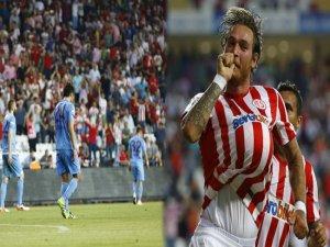Trabzonspor tarihinin en ağır yenilgisini aldı
