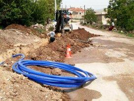 Seydişehirde içme suyu hattı yenileniyor