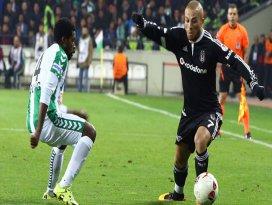 Konyasporun rakibi şampiyon Beşiktaş