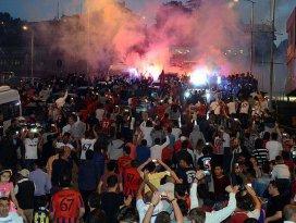 Zonguldak Kömürspora coşkulu karşılama