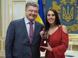 Eurovision birincisi Jamalaya Ukrayna Halk Sanatçısı unvanı