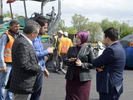 Başkan Toru, Karahüyük'deki çalışmaları inceledi