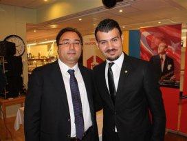 İsveç Türk Federasyonu'na Kululu başkan
