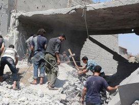 Esed rejimi sivilleri vakum bombasıyla vurdu: 6 ölü