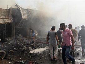 Bağdatta pazar yerine saldırı: 33 ölü