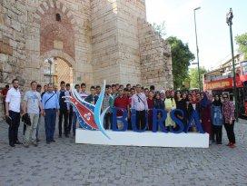 Karapınarlı öğrenciler Çanakkale ve Bursayı gezdi