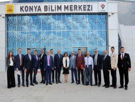 TÜSİAD Konya'ya hayran kaldı