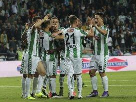 Konyaspordan galibiyetli veda: 2-1