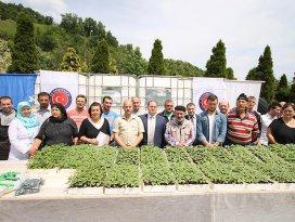 TİKAdan Bosnalı çiftçilere destek