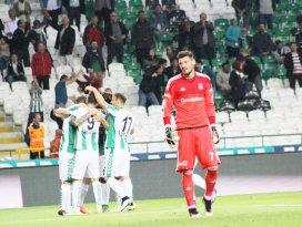 Beşiktaşlı kalecinin Konyaspor çilesi