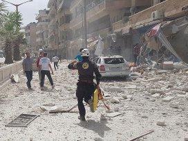 İdlibe hava saldırısı: 8 ölü, 19 yaralı