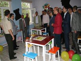 Kulu'da kütüphane ve akıl zeka oyunları sınıfı açıldı