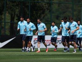 A Milli Futbol Takımı hazırlıklarının İstanbul etabını tamamladı