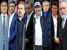 Süper Ligde 8 takım teknik direktörünü değiştirmedi