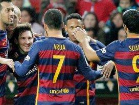 Barcelonaya rekor sponsorluk