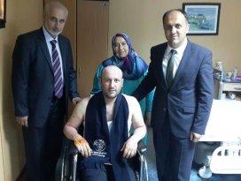 GATA'da tedavi gören Beyşehirli uzman çavuşa ziyaret