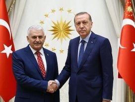 Cumhurbaşkanı Erdoğan, Yıldırımı kabul etti