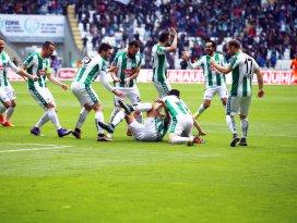 Yeşil beyazlılar sezonu 44 golle tamamladı