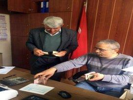 Derebucak Belediyesi'nden 'yerinde tahsilat' hizmeti