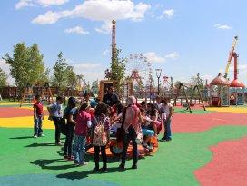Karatay Şehir Parkı'na yoğun ilgi
