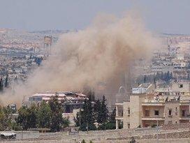 Halepe hava saldırısı: 8 ölü, 17 yaralı