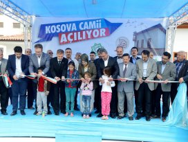 Kosova Camii hizmete açıldı