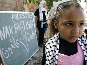 Filistin felaketi unutulmadı