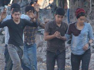 Nusaybinde teslim olan 24 terörist tutuklandı